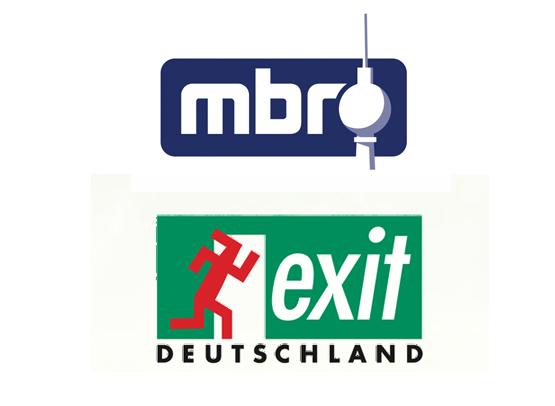 Logo MBR und Logo Exit